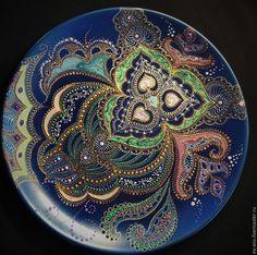 Купить Тарелка декоративная Мotion - тарелка сувенирная, тарелка на стену, оригинальный подарок