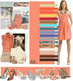"""Photo from album """"модные цвета"""" on Yandex. Colour Combinations Fashion, Color Combinations For Clothes, Fashion Colours, Colorful Fashion, Color Combos, Look Fashion, Fashion Outfits, Fashion Tips, Image Coach"""