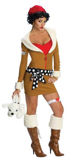 Cute Betty Boop Costume for Halloween
