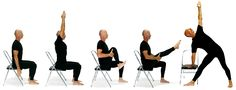 Chair Yoga Poses | chair-yoga