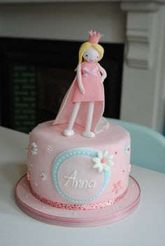 Jack and Anna's Princess and Pirate Party cakes by Bath Baby Cakes, via Flickr