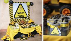 Mining Construction Truck Boy 3rd Birthday Party Planning Ideas