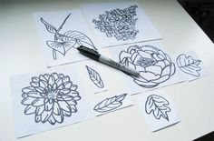No-Carve Clear Stamps