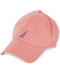 17a0e24b994 Nautica Men s Chino Twill Signature Cap Men - Hats