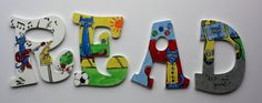 Pete the Cat Hand Painted Wall Letters by DreamItDesignArt on Etsy Read Letters, Storybook Characters, Hand Painted Walls, Letter Wall, Santa Baby, Good Parenting, Teacher Appreciation Gifts, Grade 1, Classroom Decor