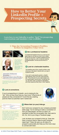 Looking for more ways to find MLM prospects on LinkedIn? Check out this infographic.
