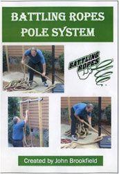 Strength & Conditioning  Strength Training Ropes    Battling Rope Pole System  www.BeBodySmart.com
