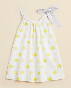 Egg by Susan Lazar Girls' Lemon Print Dress - Sizes 2-6 | Bloomingdale's