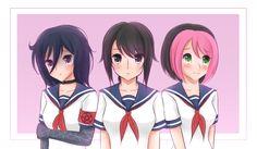Oka Ruto, Ayano Aishi and Pippi Osu