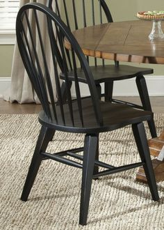 The Gray Barn Vermejo Rustic Black Dining Chair (Set of (Traditional Rustic Black Windsor Side Chair) Dining Chair Set, Dining Room Chairs, Side Chairs, Bar Chairs, Dining Tables, Windsor Dining Chairs, Solid Wood Dining Chairs, Wooden Chairs, Furniture Deals