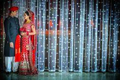 Red Wedding Lengha / Sari
