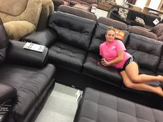 My best friend> yours  thank you for helpin me shop and testing out the couches  #wcw #bff