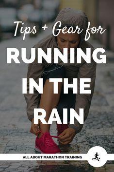 Running in the Rain + Running Rain Gear - Freitag Lustig Wochenende Running Rain Gear, Running In The Rain, Running Workouts, Running Training, Running Tips, Beginner Running, Running Memes, Yoga Workouts, Workout Tips