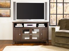 Hammary Enclave Entertainment Console 53 x 20x30  $820   furnitureland south