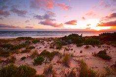 Sunset at Goolwa Beach, Australia