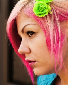 Coral Hair Color Mix Of Manic Panic Pretty Flamingo And