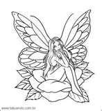 Picture 21 « Desenhos De Fadas – Tatuando