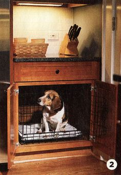 Cool & Creative Way to Design Dog Beds. oF Course this would need vents on the side.