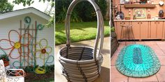 Here is a list of 10 great and creative things to make with your old garden hose. Check out this list today and get inspired!