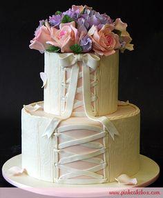 Bridal Shower Corset Cake