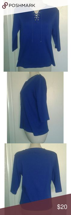 NWOT Karen Scott Blouse New without tag Karen Scott Blouse. Elbow length, size Medium Same day shipping. Karen Scott Tops