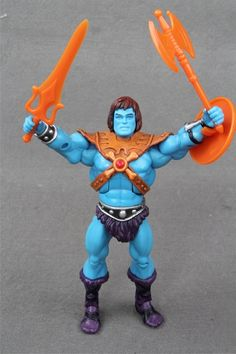 Pré-commande Masters of the Universe Classics Custom Cartoon Power épée Orange Faker