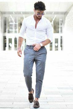 Street style for men roupa social masculina, moda masculina jovem, Mens Fashion Blog, Mens Fashion Suits, Fashion Ideas, Men's Fashion Styles, Fashion Check, Gents Fashion, Fashion Details, Fashion Fashion, Fashion Dresses