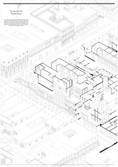 AA School of Architecture 2014 - Erez Levinberg Architecture Concept Diagram, Architecture Graphics, Architecture Drawings, School Architecture, Architecture Design, Axonometric Drawing, Isometric Drawing, Presentation Board Design, Section Drawing