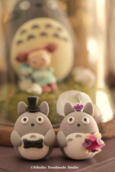 Totoro wedding cake topper #トトロ