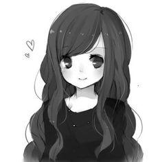 Kawaii and sweet anime girl illustration Anime girls for O.C ...