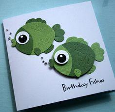 originale variante de carte d'anniversaire, faire soi meme une carte d'anniversaire