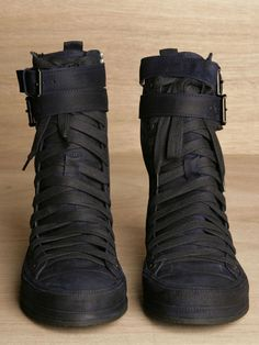 Ann Demeulemeester Mens Scamasciato Boots in Blue for Men (ink) - Lyst