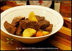 Stew  Beef - http://jamaicandinners.com JAMAICAN SUNDAY DINNER - Jamaican Food - JAMAICAN DINNER -MiQuel Marvin Samuels