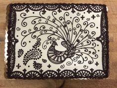 Peacock Paisley Design