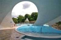 The Cave Bath is a thermal bath in a natural cave in Miskolctapolca, which is part of the city of Miskolc, Hungary, and is unique in Europe.