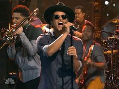 Bruno Mars Locked Out Of Heaven SNL