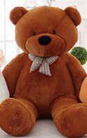 Features: Stuffed Plush Animal Toy Size: 39 inches Gender: Unisex Filling: Polyester Cotton Material: Cotton Animal: Bear Imported direct from manufacturer