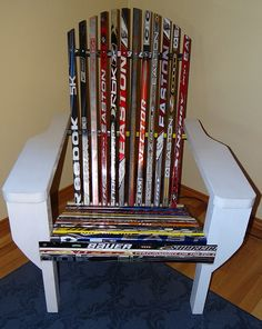 Lovely All Of Our Furniture Downstairs Will Be Made Out Of Hockey Stick, This  Includes Tables,highchairs, Shelves And Much More | For The Kids |  Pinterest | Hockey ...