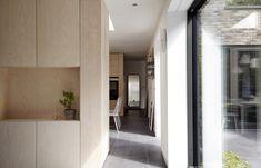 Architects builds grey-brick house around three small courtyards Grey Brick Houses, Small Courtyards, Minimal Home, Zaha Hadid Architects, House Layouts, Apartment Interior, Decor Interior Design, Custom Homes, Future House