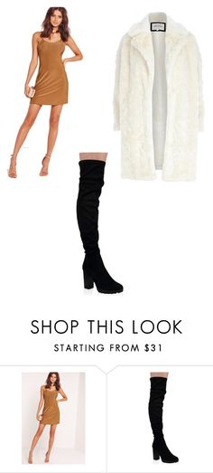 """""""Untitled #2206"""" by clarry-sinclair ❤ liked on Polyvore featuring Missguided and River Island"""