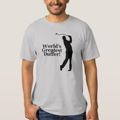 Finally a shirt for all of the bad golfers (like myself) out there!