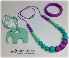 Silicone Teething Necklace for Mom Wear,Best Soothing Method-Baby Shower Gifts-Nursing for Mom,Food Grade Silicone FDA BPA Free AS NZS