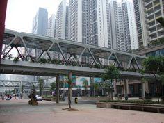 广州珠江新城空中连廊