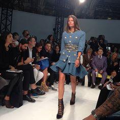 "Nasiba Adilova's Spring 2014 Paris Fashion Week Diary - Day Two: ""The Balmain Show"""