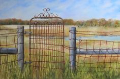 Wire Gate -- Carol Keene