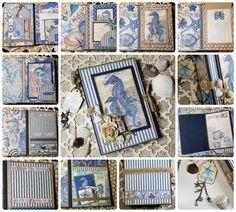 DIY Beach Mini Album – Graphic 45 Papers Scrapbook Page Layouts, Scrapbook Pages, Mini Photo Albums, Graphic 45, Gallery Wall, Paper Crafts, Brand Ambassador, Beach, Frame