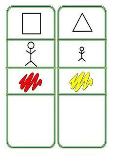 Atributos bloques logicos Go Math, Math For Kids, Preschool Activities, Teaching, Slide, Robots, Geometric Fashion, Activities, Ideas