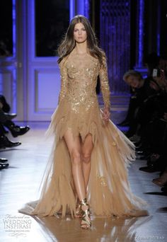 http://weddinginspirasi.com/2012/02/15/zuhair-murad-spring-summer-2012-couture/ zuhair murad spring summer 2012 couture collection #fashion #couture #dress #gold #glamour #mulletdress #zuhairmurad