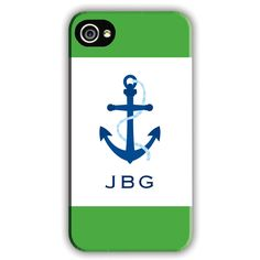 Boatman Geller Personalized Cell Phone Case Anchor Icon from @Sarah Nasafi Grayce #laylagrayce #new #cellcover
