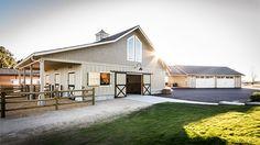 Beautiful barn exterior